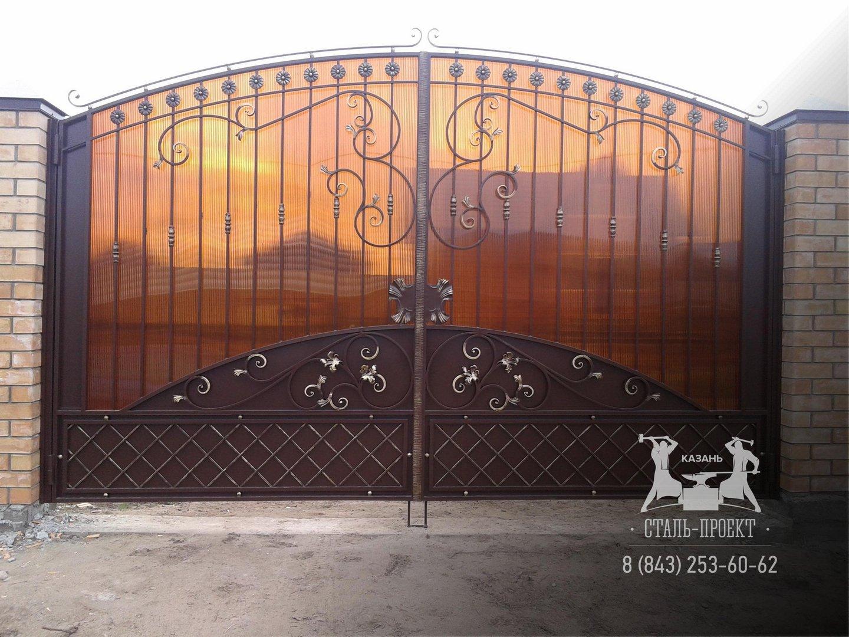 правильно выбрать кованые ворота в благовещенске цены простое