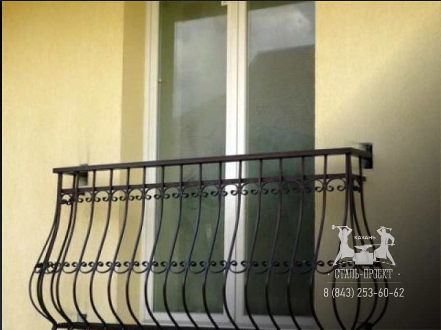 Фотогалерея интересных французских балконов в частных домах.